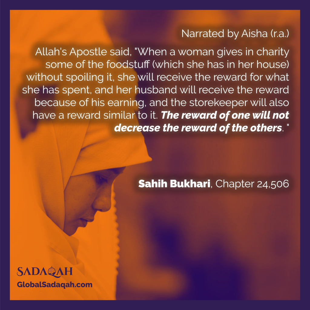 reward of zakat